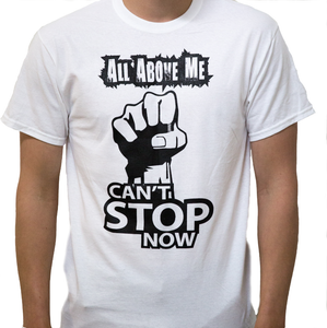 Image of Cant Stop Now White Tee