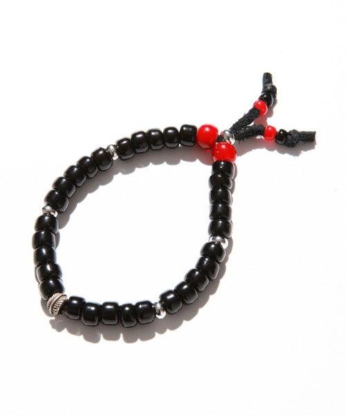 Image of Vanquish - Top Bead Bracelet (Black)