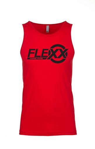 Image of Red/Black Men's Flexx Tank
