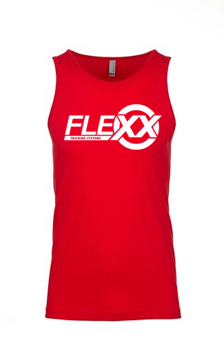 Image of Red/White Men's Flexx Tank