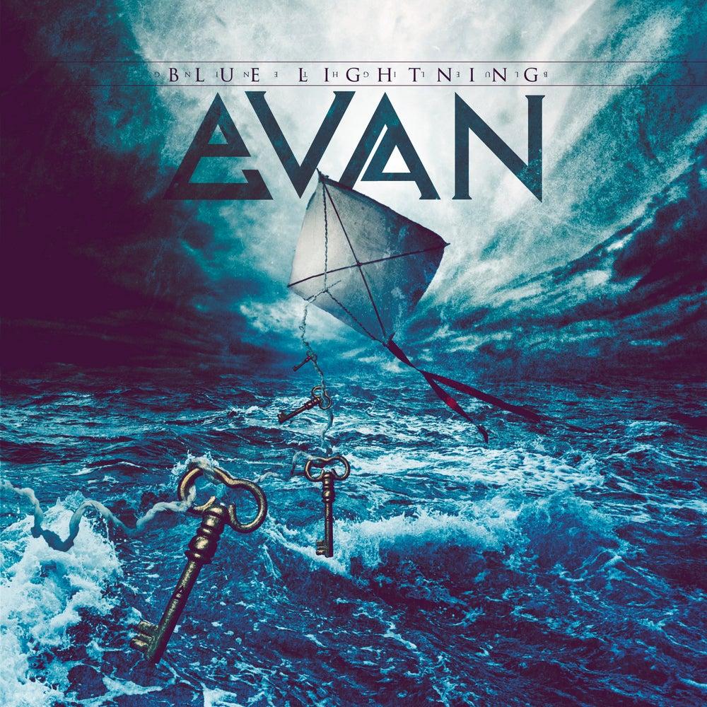 Image of EVAN - Blue Lightning (LIMITED EDITION: Signed CD by Evan)