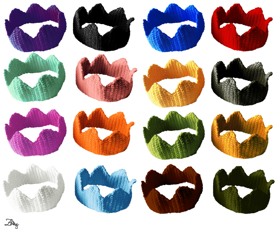 Image of Crochet Crowns