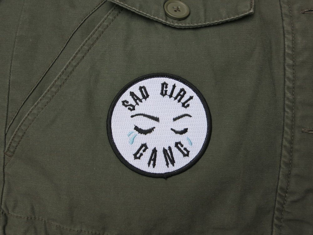 Image of Sad Girl Gang X Pebbles Art Patch