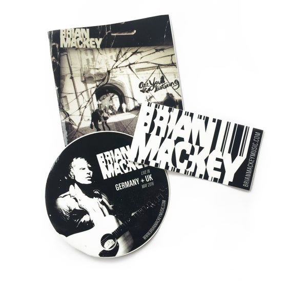 Image of Brian Mackey Sticker Pack