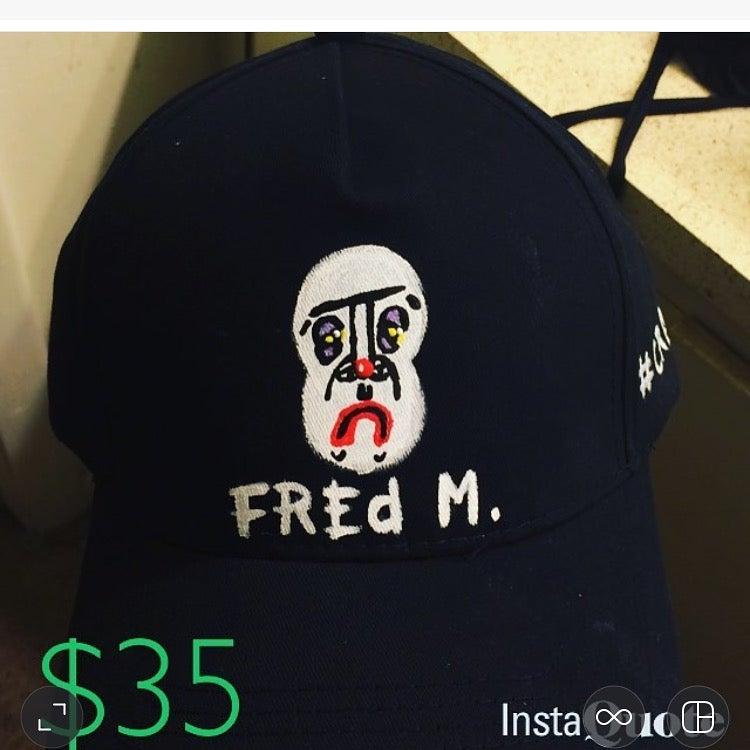 Image of CRANE X MOLINE PAINTED LOGO CAP