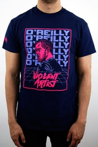 Image of Kyle O'Reilly 'Violent Artist' T-Shirt