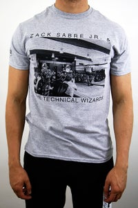 Image of Zack Sabre Jr. 'TECHNICAL WIZARD BAND' T-Shirt