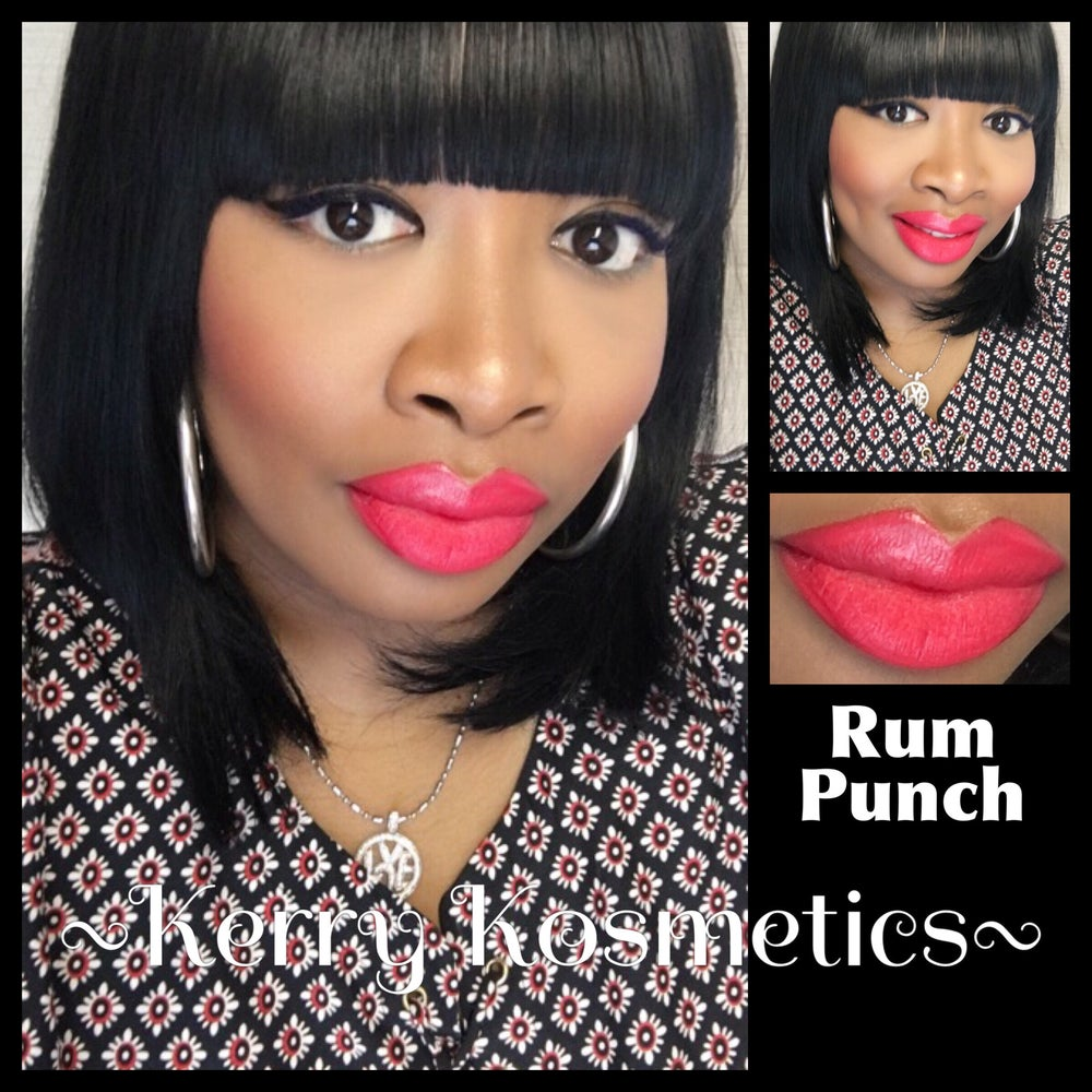 Image of (Matte) Luscious Lipstick- RUM PUNCH