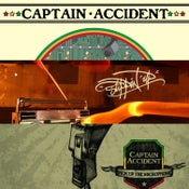 Image of Captain Accident - All Three Albums for £20.00!!!