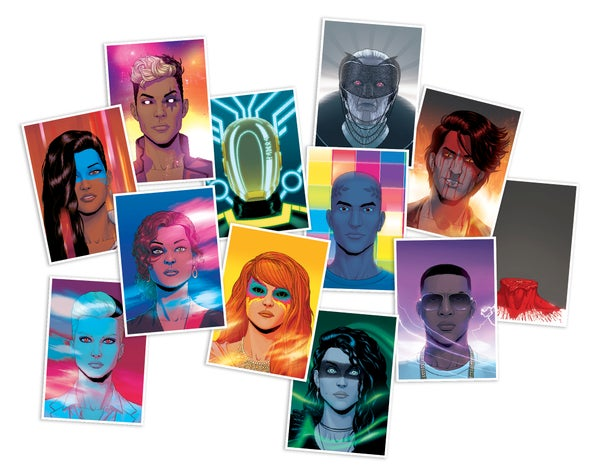 Image of Set of WicDiv Cover prints