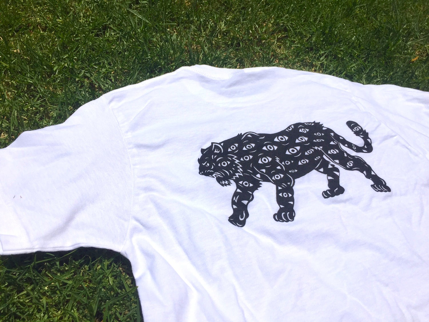 Image of All Seeing Tiger T-shirt (white)