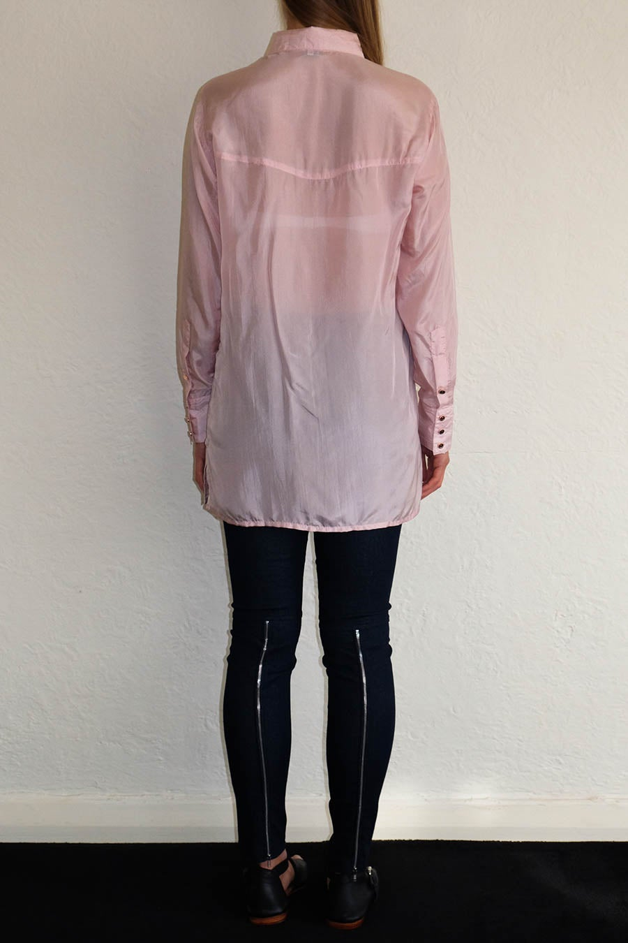 Image of CAMILLE SHIRT - MUSK PINK