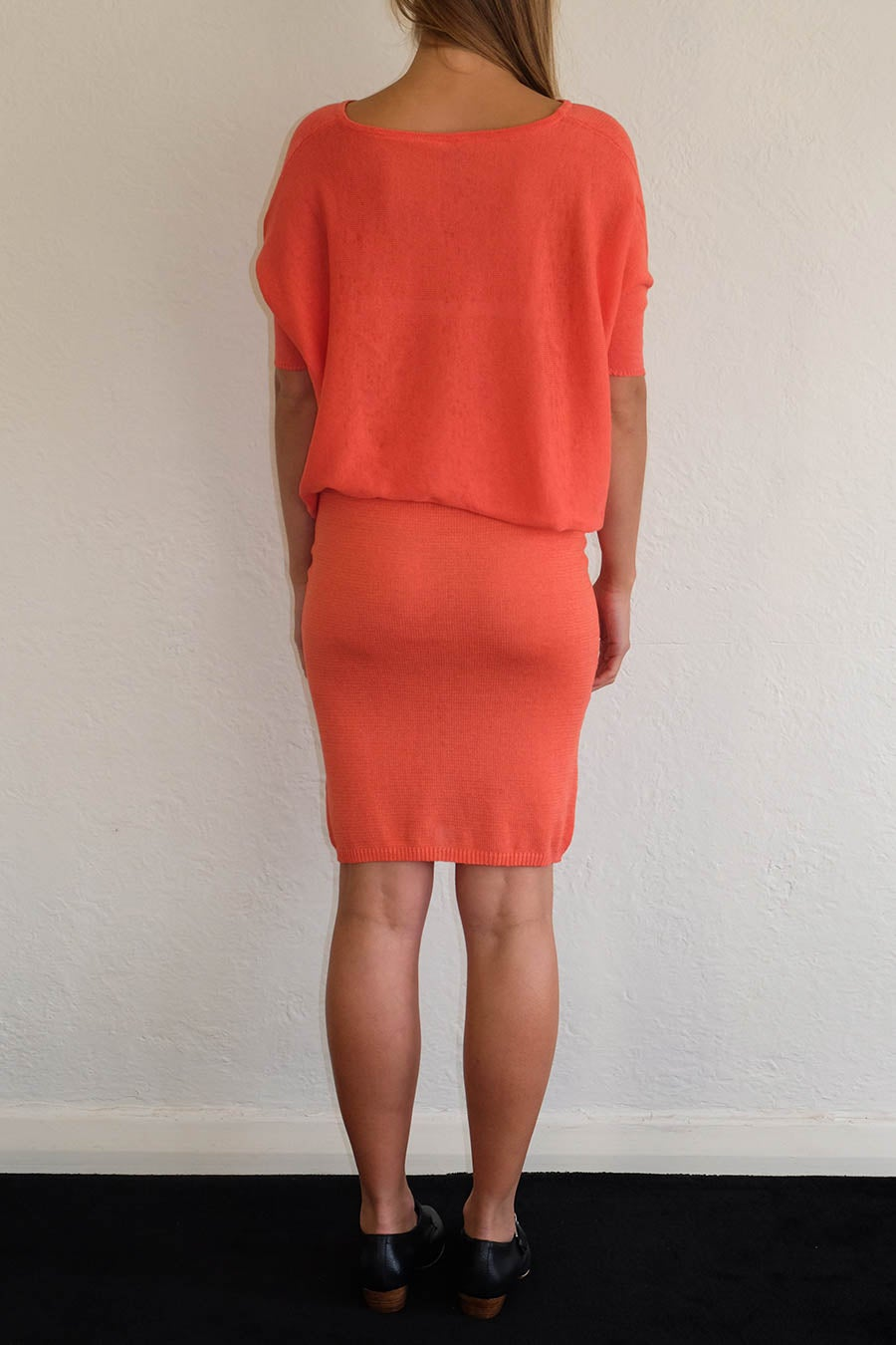 Image of TUBE SKIRT - CORAL