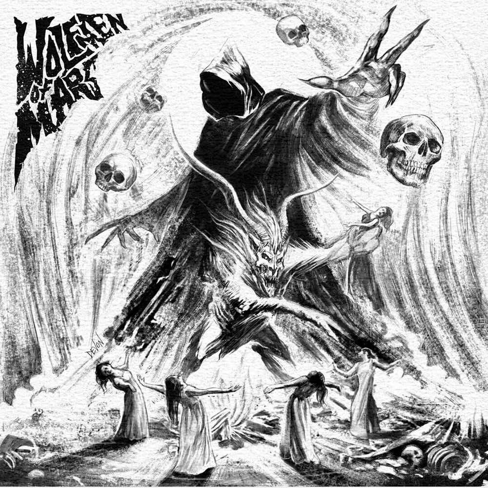 Image of Wolfmen Of Mars:The Witch, The Goat & The Malevolent Spirit: grey vinyl: 150 copies