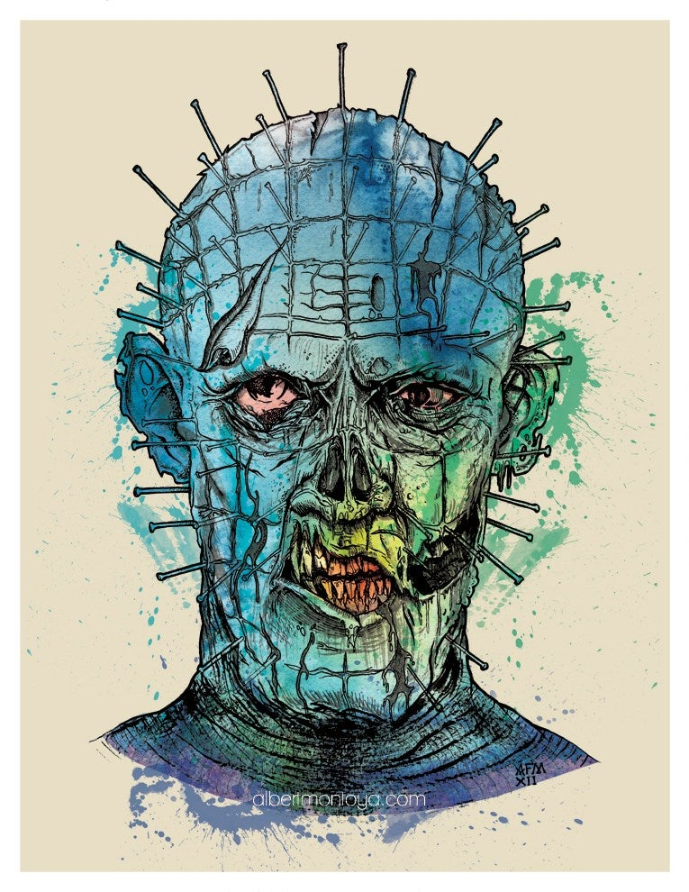 "Image of Print ""Zombie Raiser"""