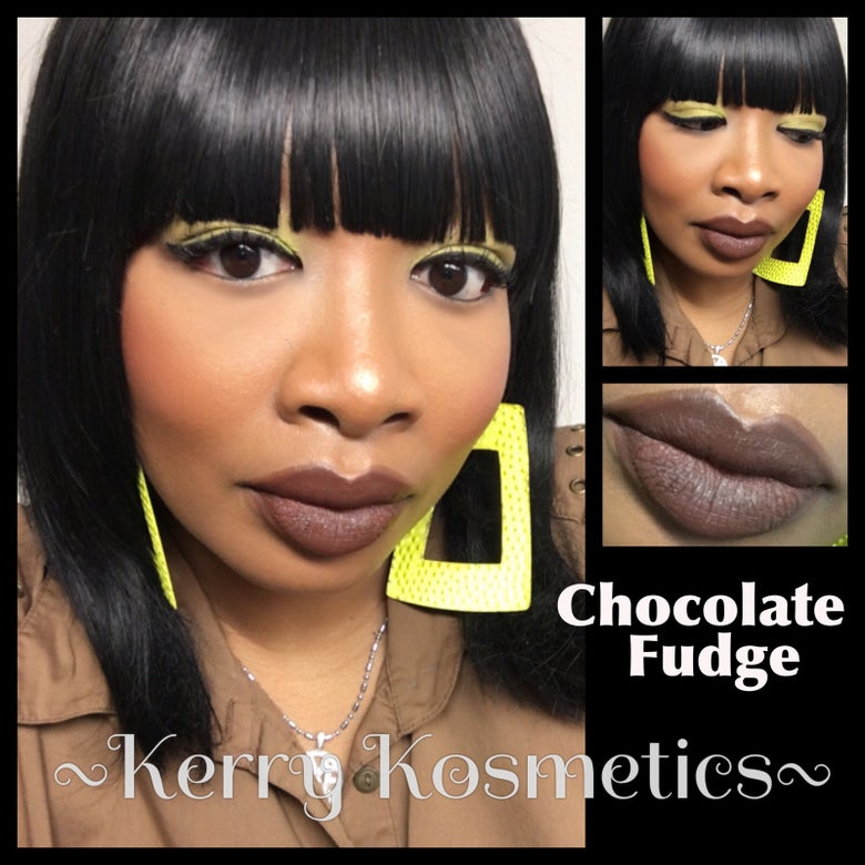 Image of (Matte) Luscious Lipstick- CHOCOLATE FUDGE