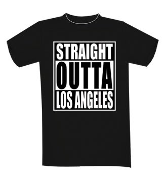 Image of STRAIGHT OUTTA LOS ANGELES T-SHIRT