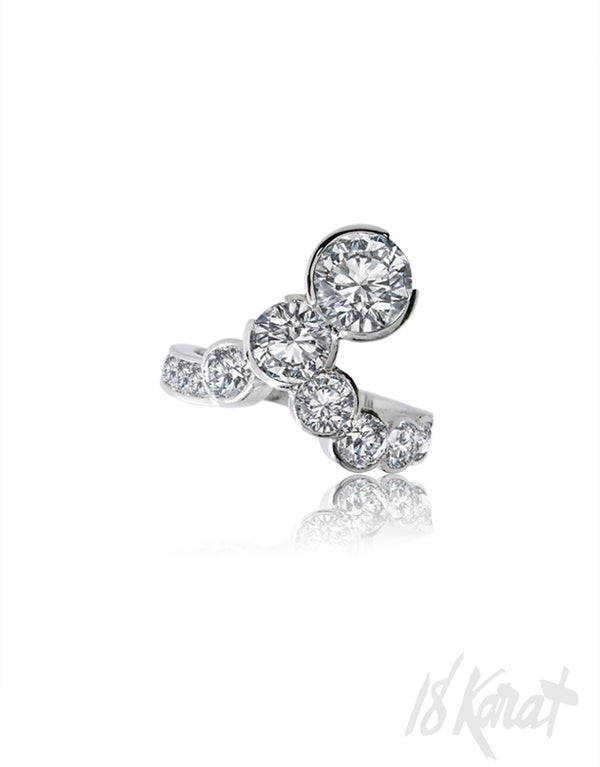 Jeannette's Diamond Ring - 18Karat Studio+Gallery