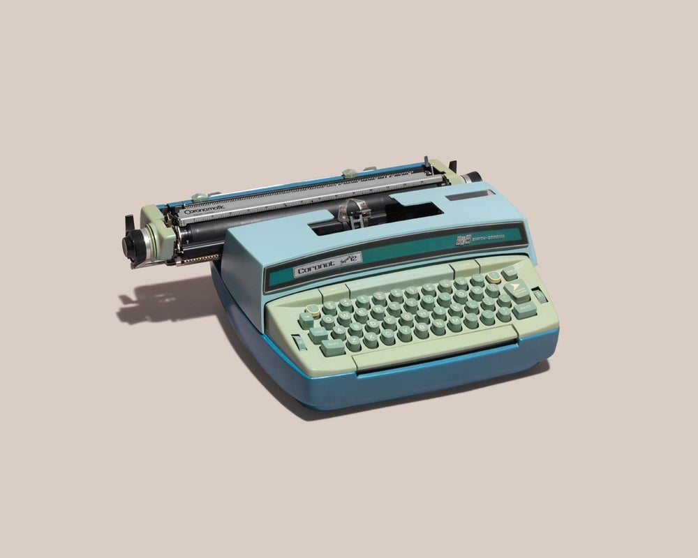Image of Relics of Technology; Typewriter