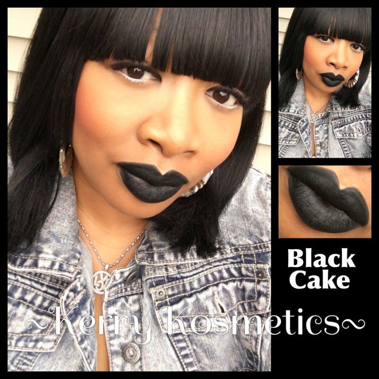 Image of (Matte) Luscious Lipstick - BLACK CAKE