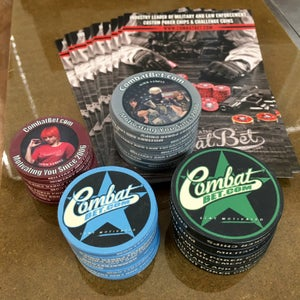 Image of CombatBet Chip Sample Pack