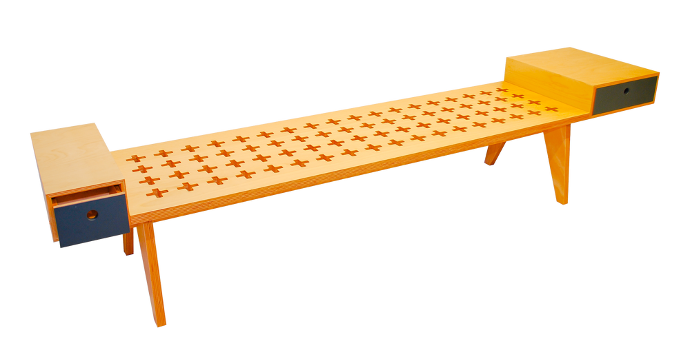 Image of Plus one Bench