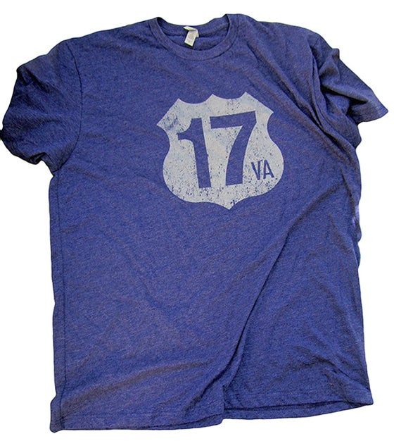 Image of Highway 17 Logo - Blue