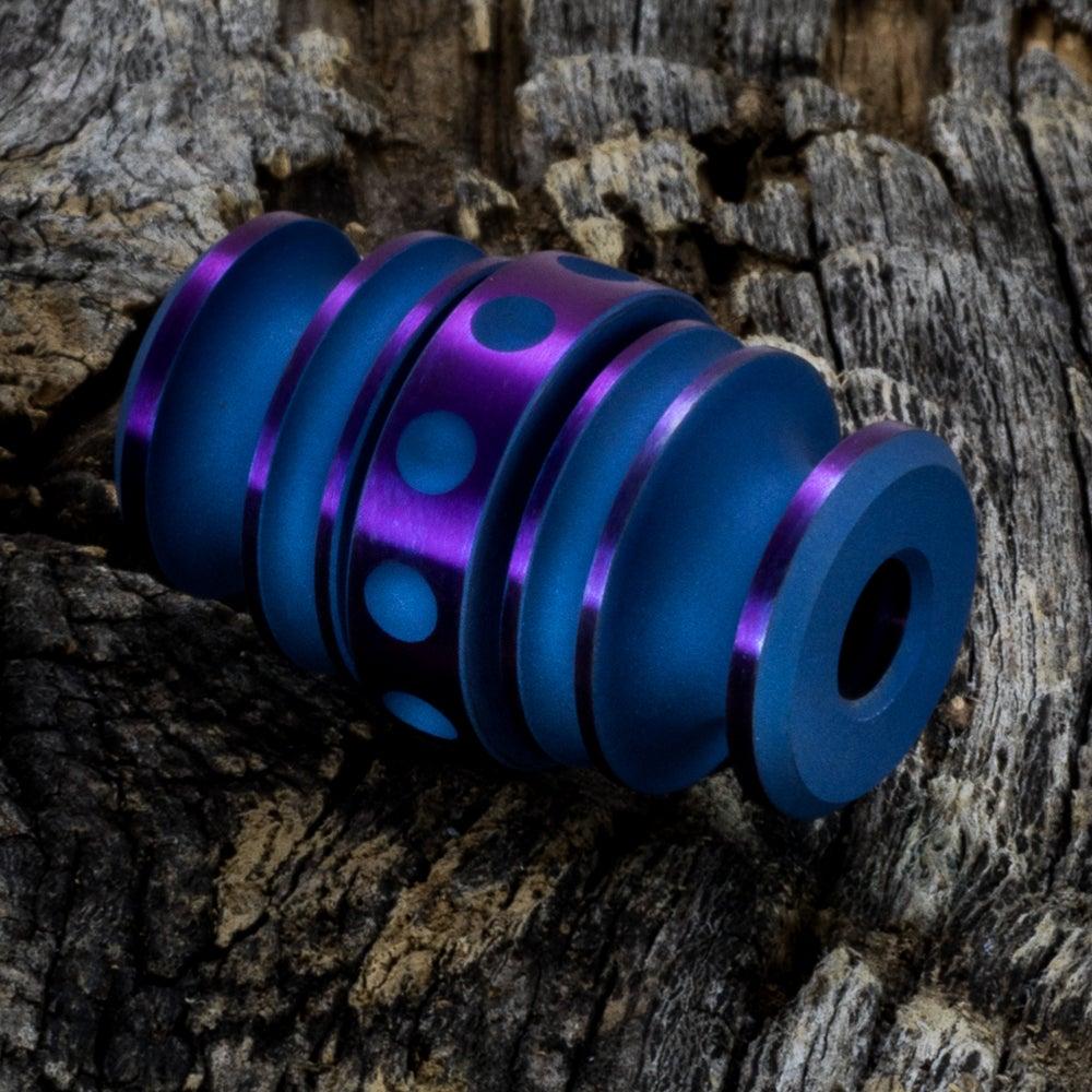 Image of Kong Bead Blue & Purple #1