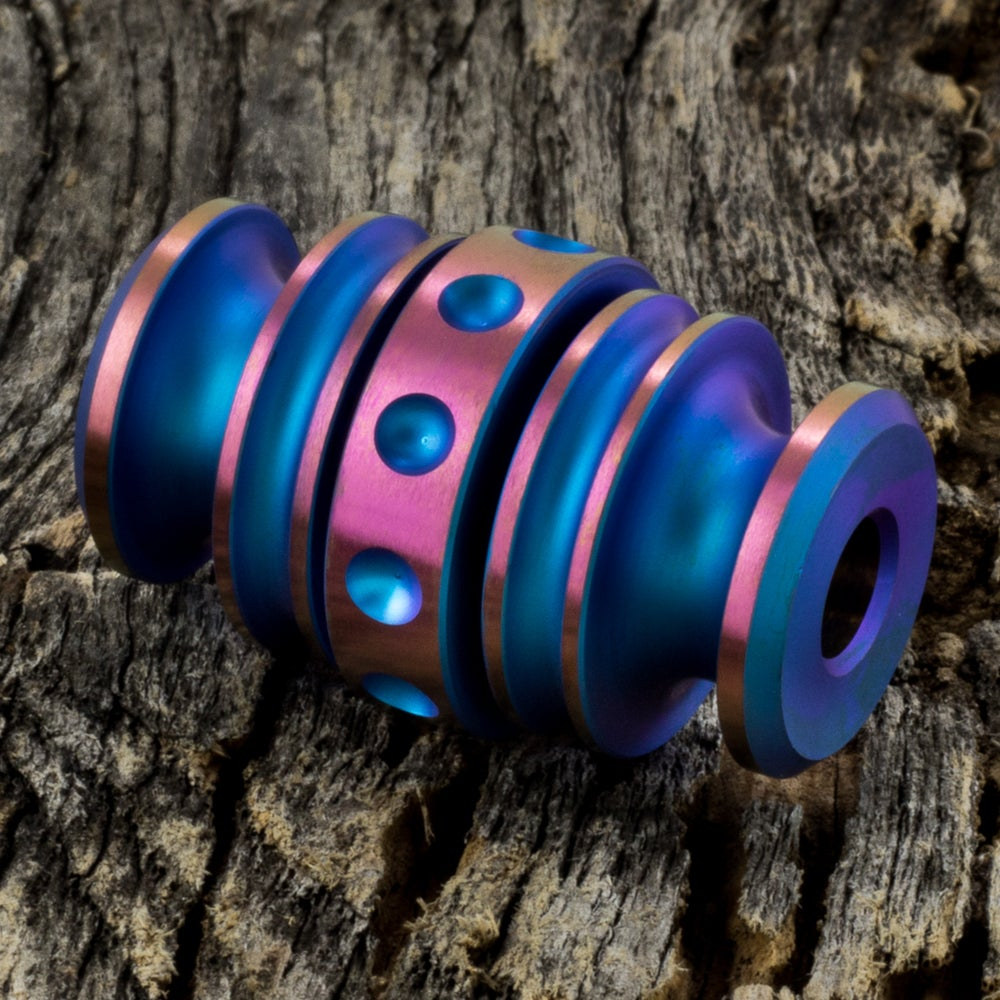 Image of Kong Bead Blue & Pink #1