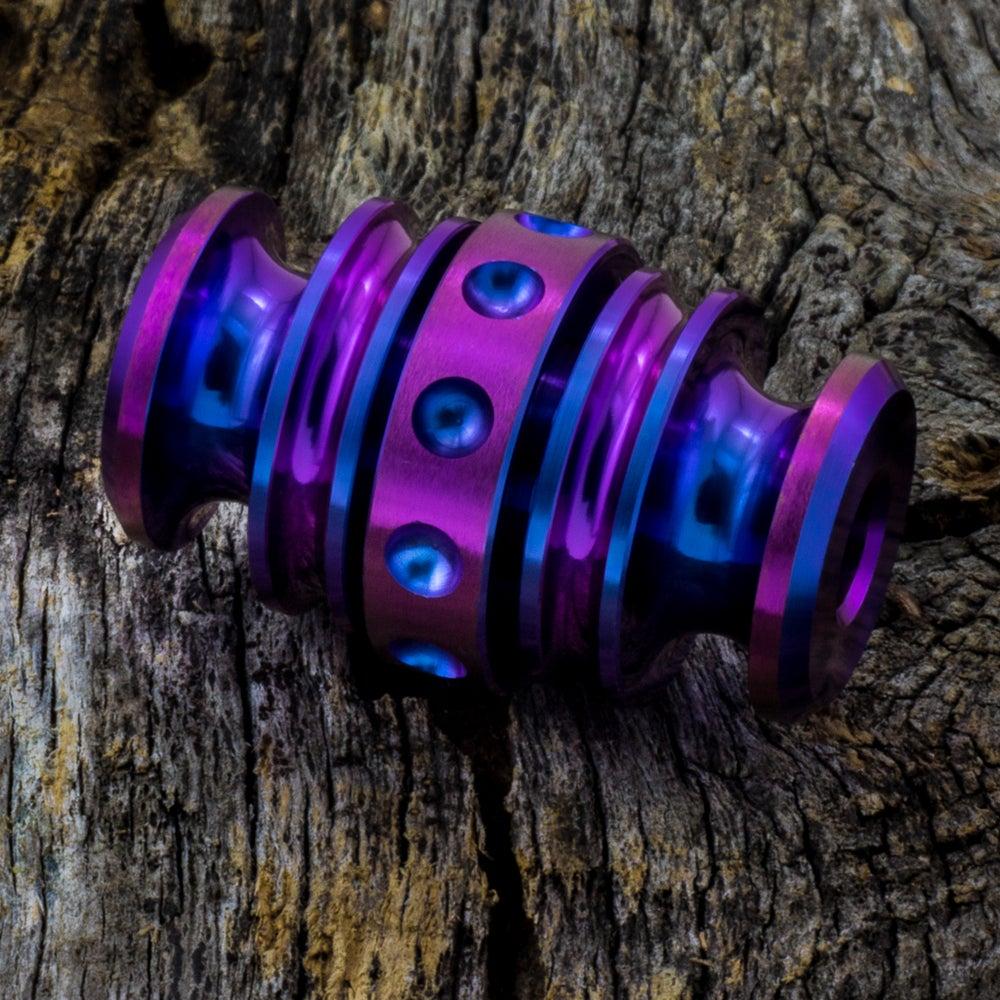 Image of Kong Bead Blue & Purple #2