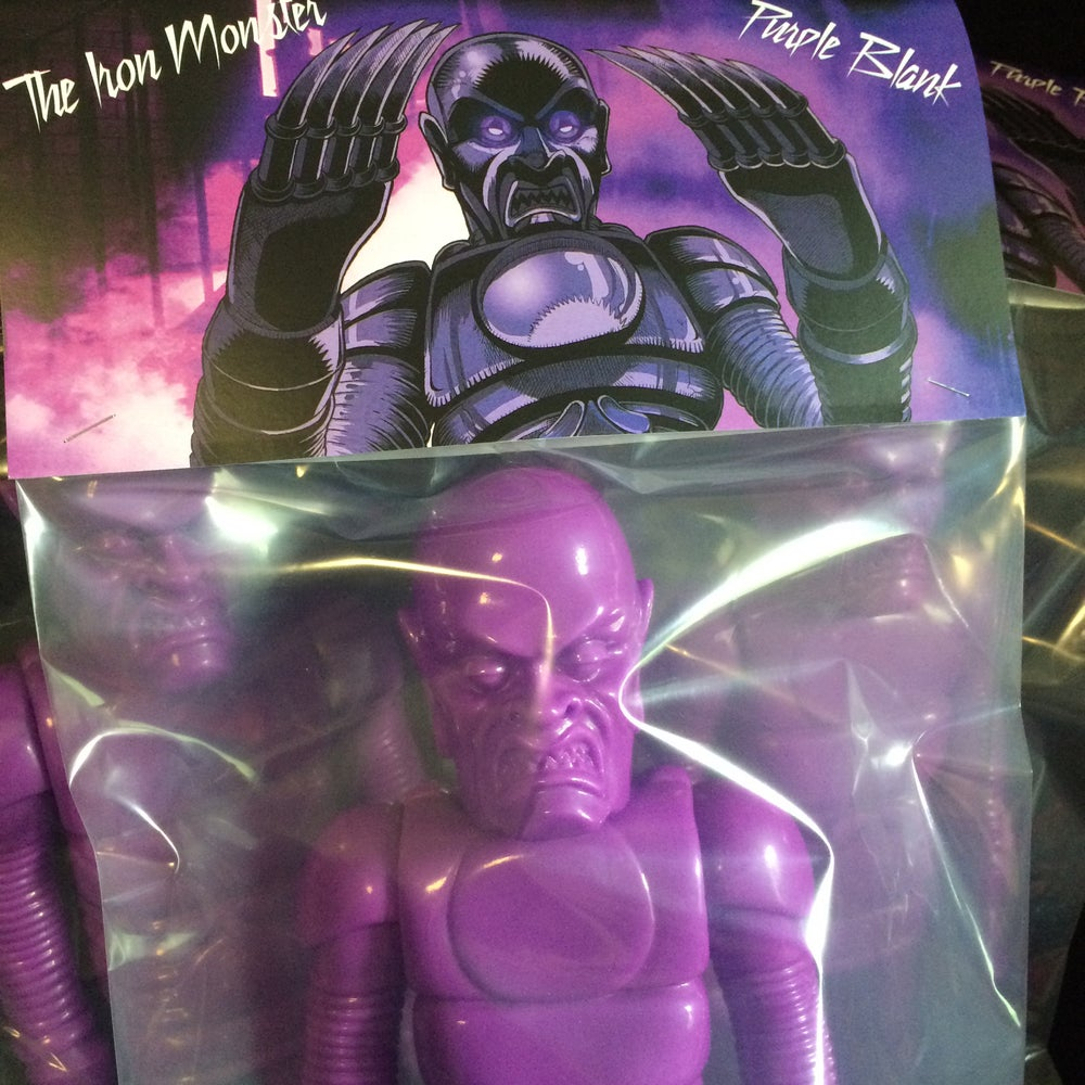 Image of The Iron Monster In Blank Purple