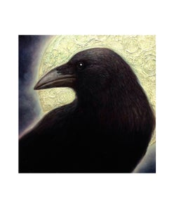 "Image of Crow Moon- 8x10"" Open Edition Print"