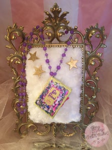 Image of Let's Pretend ~ Fairy Tale Mini Book NeckLace