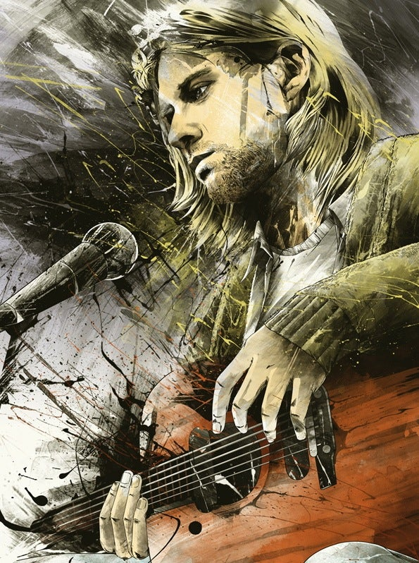 Image of Kurt Cobain • Artist Proof