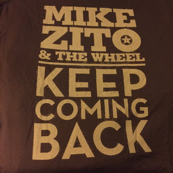 Image of Mike Zito & the Wheel - Keep Coming Back ... Mens t-shirts