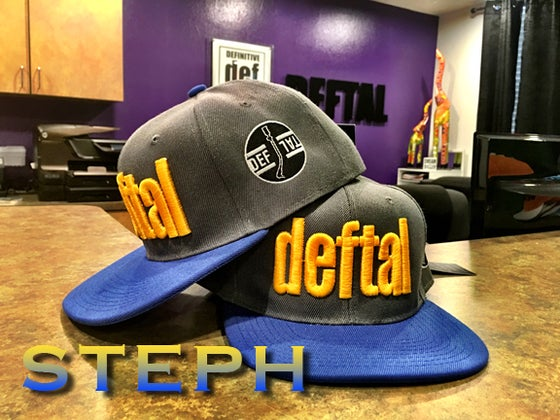 Image of DEFTAL Team Color Snapbacks
