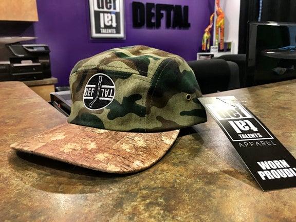 Image of DEFTAL 5 Panel Hats