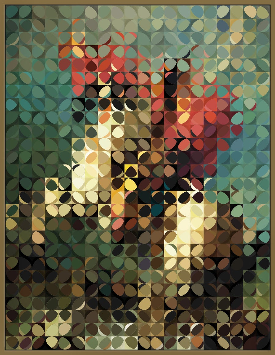 Image of Squint Abstract Classic Print - 3