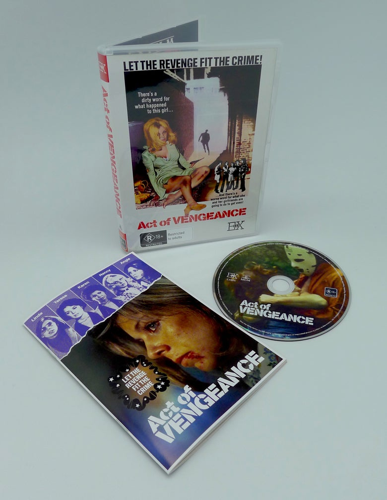 Image of ACT OF VENGEANCE - DVD + BOOKLET