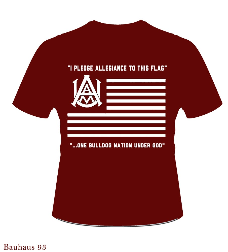 Image of AAMU - Allegiance Shirt