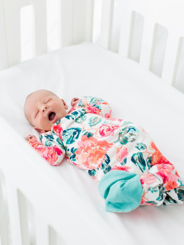 Image of the BASIC BABY GOWN + MERMAID BABY GOWN pattern