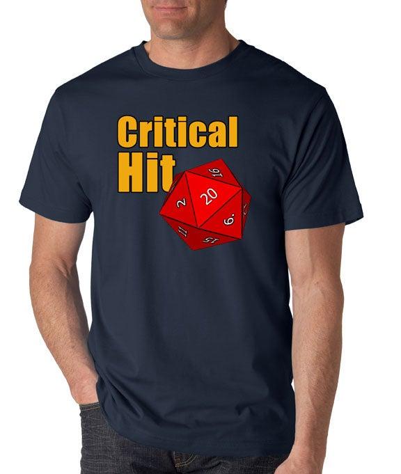 Image of Critical Hit Logo T-Shirt