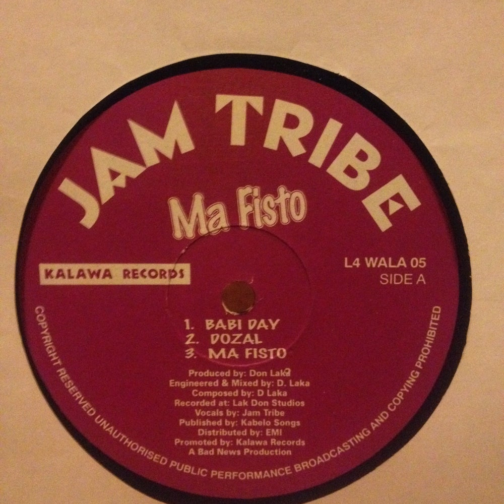Image of Jamm Tribe - Ma fisto
