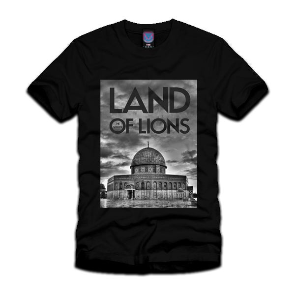 Image of 'Land of Lions' *REFIX* Tee - TheSOOTS 5th Anniversary Special