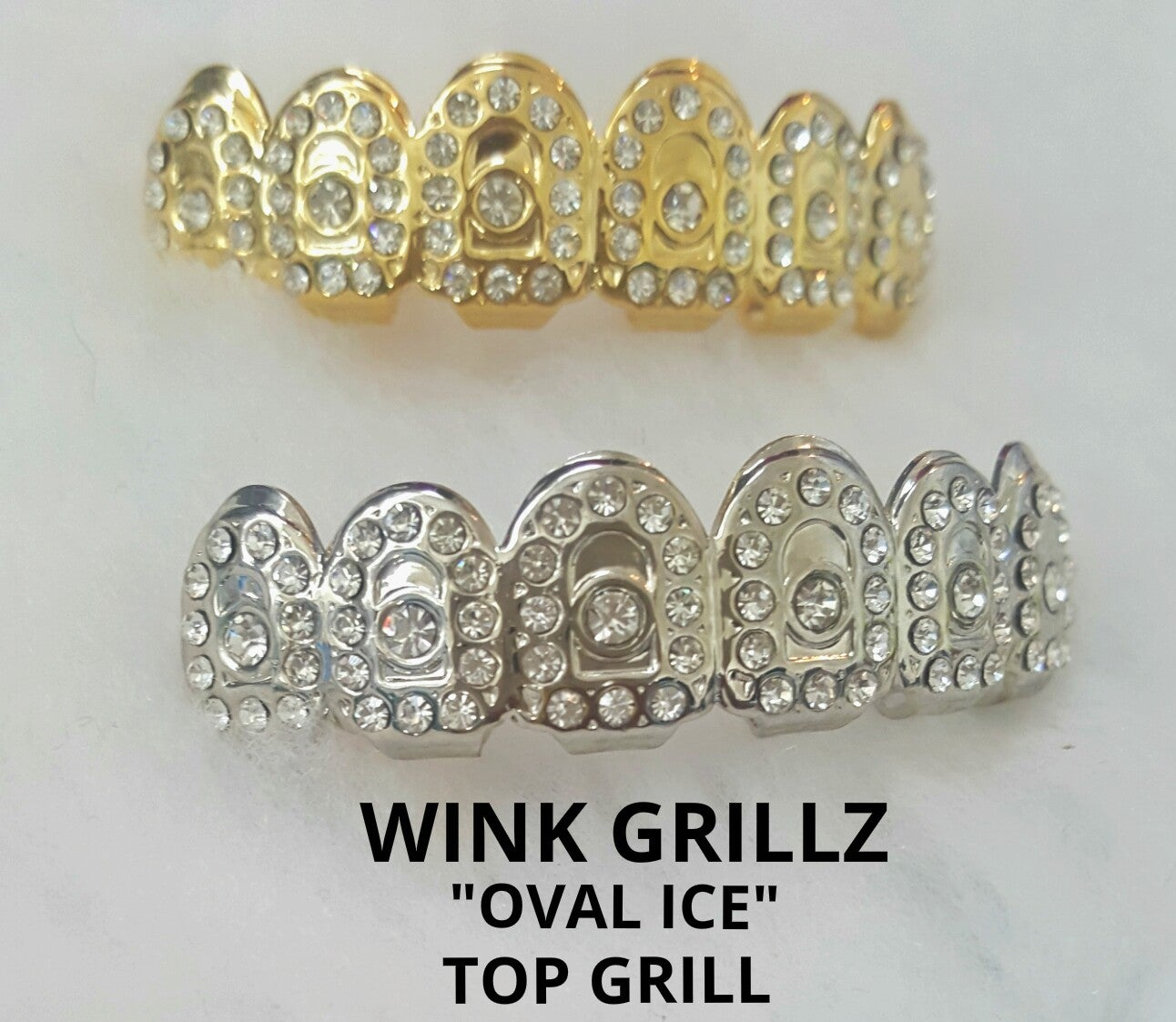 Image of TOP GRILLZ (Only TOP) ICED OUT