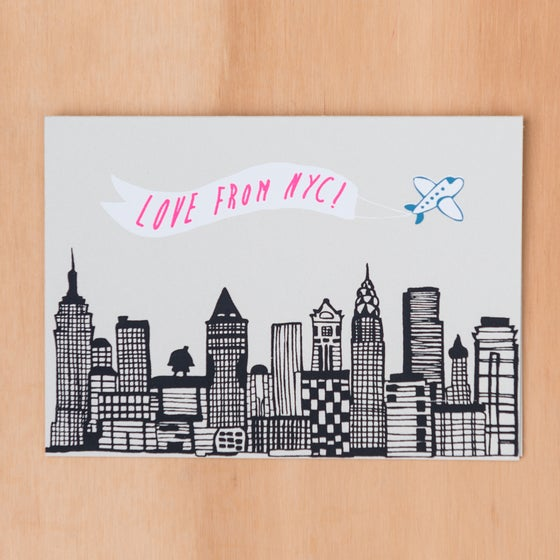 Image of Love From NYC Skyline