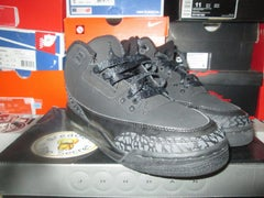 """Air Jordan III (3) Retro """"Black/Dark Charcoal"""" GS *PRE-OWNED* - areaGS - KIDS SIZE ONLY"""