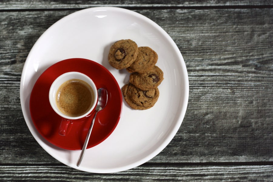 Image of Coffee and Dark Chocolate Cookies