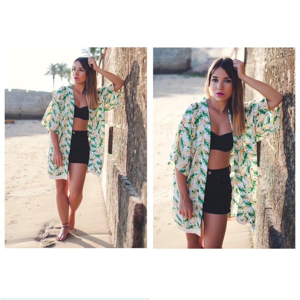 """Image of 🌴🍌""""BANANA/PALMS"""" Kimono"""