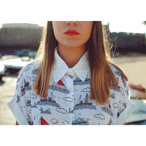 "Image of ⚓️⛵️""DREAM SHIP"" Camisa Larga"